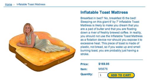 toastmattress